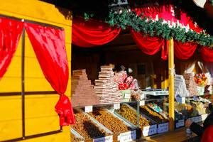 Christmas sweets at Sibiu Christmas market (Flip 2019)
