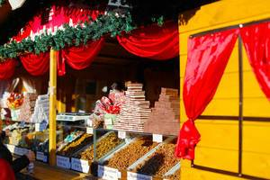 Christmas sweets at Sibiu Christmas market
