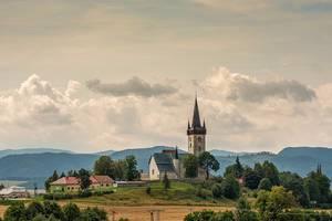 Church In High Tatry Mountain Area