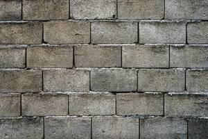 Cinder Block Wall Background Full Frame