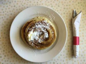 Cinnamon Pancake at The Pancake Man