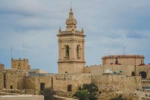 Citadella Gozo Kirche In Victoria