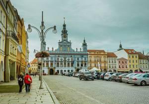 City centre in Ceske Budojevice
