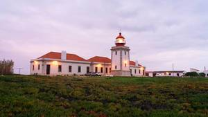 Classical Portugese Lighthouse at dawn  Flip 2019