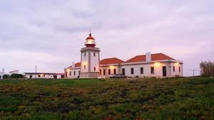 Classical Portugese Lighthouse at dawn