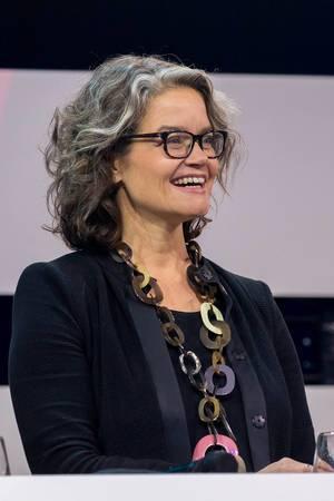 Claudia Nemat Vorstand Technologie & Innovation Deutsche Telekom AG auf der Bühne der Digital X in Köln 2019
