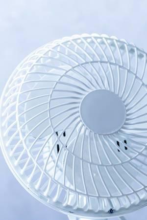 Close-up a electric ventilator (Flip 2019) (Flip 2019)
