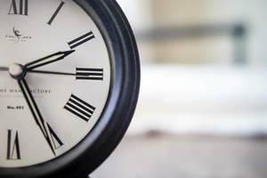 Close Up Bokeh Photo of Vintage Timer Clock