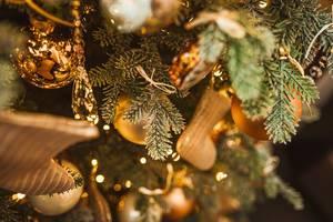 Close Up Of Christmas Tree Decor (Flip 2019)