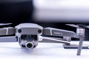 Close-up of DJI Mavic 2 Zoom drone