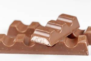 Close-up of milk chocolate candies