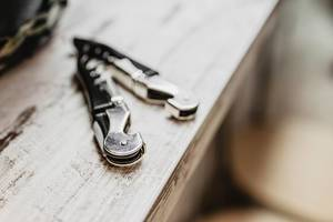 Close up of pocket knife