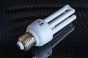 Close Up on the Compact Fluorescent Light Bulb