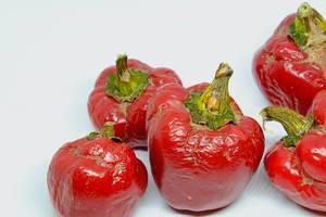 Closeup of bell peppers (Flip 2019)