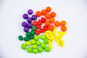 Closeup of Colorful Candies