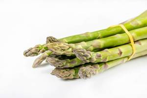 Closeup of Fresh Green Asparagus