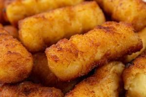 Closeup of Potato Croquettes (Flip 2019)