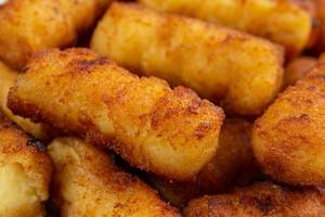 Closeup of Potato Croquettes