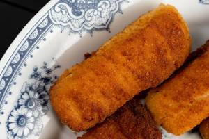 Closeup on Fried Chicken sticks