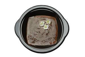 Cocoa pudding with chia seeds