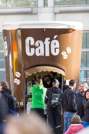 Coffee to go - Frankfurt Marathon 2017