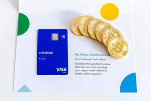 Coinbase Visa Credit Card and Bitcoin Coins