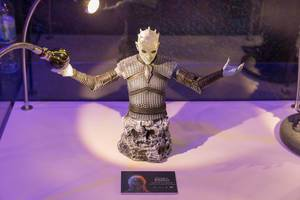 Collection figure of Night King from Game of Thrones