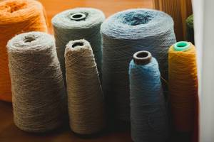 Collection Of Colorful Wool Yarns (Flip 2019)