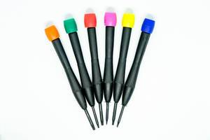 Colorful star screwdrivers
