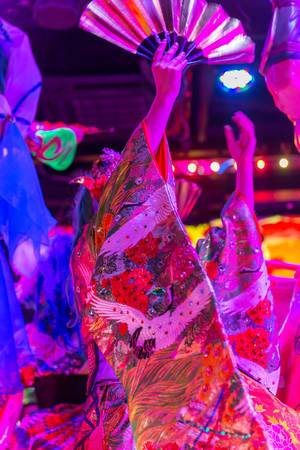 Colourful Show at Robot Restuarant