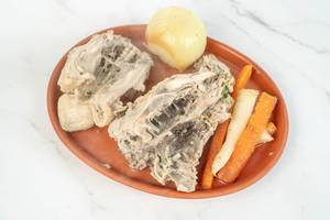 Cooked Chicken Backs with Carrot and Parsnip (Flip 2019)