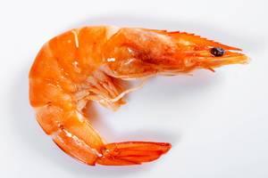 Cooked shrimp close-up  Flip 2019
