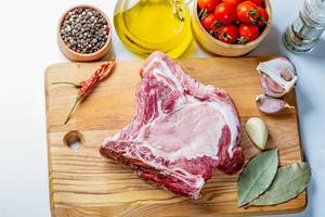 Cooking homemade steak