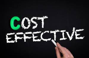 Cost effective text on blackboard