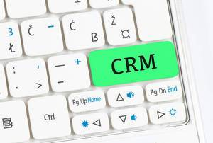 CRM green keyboard button