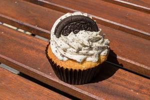 Cupcake mit Doppelkeks