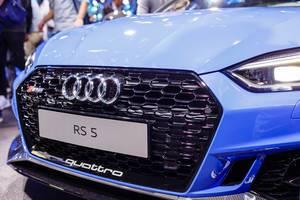Das Audi-Modell RS 5 Quattro bei der IAA 2017 in Frankfurt am Main