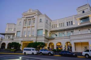 Das Casa de Emperador in europäischem Architektur-Design im Zentrum von Iloilo auf den Philippinen