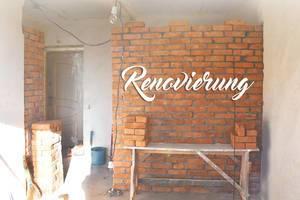 Das Haus wird renoviert