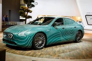 Das Konzept Coupe von Thunder Power  bei der IAA 2017 in Frankfurt am Main