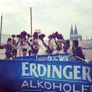 Das längste Wochenende des Jahres #ironman #triathlon #ctw #cologne226 #dom #cathedral #cologne #köln #running #erdinger #cheerleader #marathon
