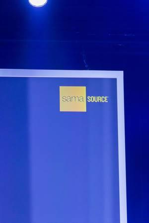 Das Logo der Firma SamaSource
