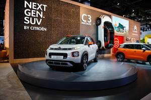Das Modell SUV C3 Aircross neuer Generation von Cirtoen