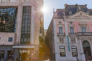 Das Museum Nacional do Desporto und Hotel VIP Eden in Lissabon, Portugal