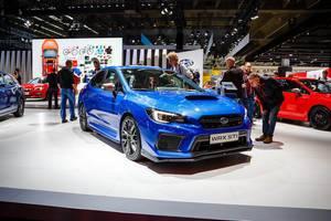 Das neue Top-Modell WRX STI von Chevrolet bei der IAA 2017 in Frankfurt am Main