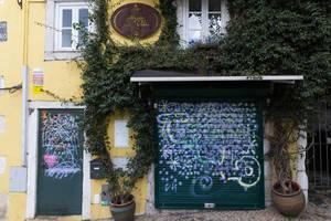 Das Restaurant Canto da Vila in Lissabon, Portugal