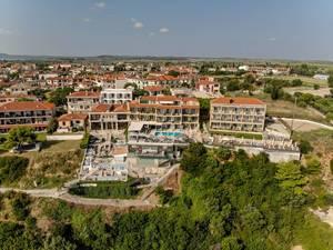 Das Rigas Hotel in Afitos, Griechenland