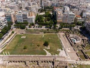Das Römische Forum und die Agora in Thessaloniki