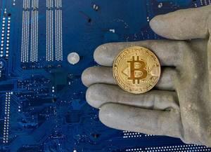Das Schürfen von Bitcoin