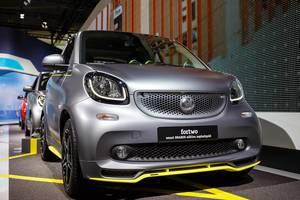Das Smart Modell fortwo von BRABUS Edition bei der IAA 2017 in Frankfurt am Main
